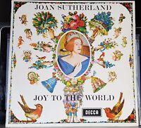 Joan Sutherland - Joy To The World - 1965 DECCA LP record