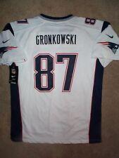 *IRREGULAR* New England Patriots ROB GRONKOWSKI nfl NIKE Jersey Youth (xl)