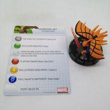 Heroclix Amazing Spider-Man set Hobgoblin #041b Prime figure w/card!