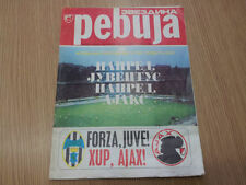 Away Teams F-K European Cup Final Football Programmes