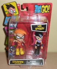 Teen Titans Go Figures 2pk ~ Starfire The Terrible with Speedy