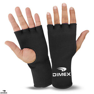 Boxing Fist Hand Inner Gloves Bandages MMA Muay Thai Punch Wraps Black S/M -L/XL