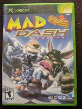 Mad Dash Racing (Microsoft Xbox, 2001) w Case & Manual Very Nice!