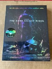 The Dark Knight Rises Nova Media Ltd Edition Blu Ray Steelbook NEW & SEALED DCU