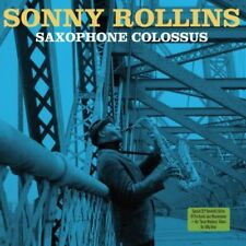Sonny Rollins Saxophone Colossus inc Tenor Madness Vinyl Double 2 LP 180g Record