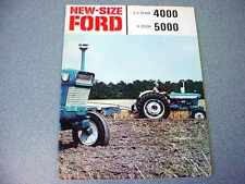 Ford 4000 & 5000 Farm Tractor Color Brochure