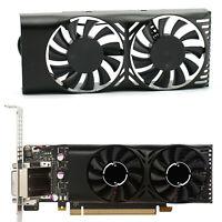 Für MSI GeForce GTX 1050 2GT LP HA5510M12F-Z DC12V Lüfter Cooling Fan Cooler 2X