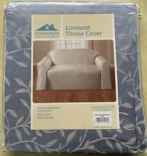 """Loveseat Throw Cover Homestyle 70"""" X 120"""""""