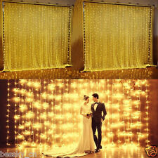 22M 200LED Solar String Lights Outdoor Garden Wedding Xmas Party Fairy Light
