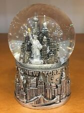 65 mm New York City Snow Globe, Statue of Liberty, NYC Souvenir, Pewter