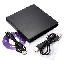 USB IDE CD DVD RW Burner ROM Hard Drive External Case Enclosure Caddy Laptop PC