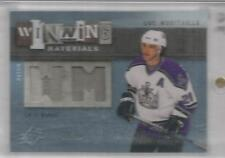 2009-10 SPX Hockey Luc Robitaille Materials Jersey-Patch Card # 19/50 (CSC)