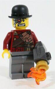LEGO NINJAGO MECHANIC MINIFIGURE CROOK VILLIAN - MADE OF GENUINE LEGO PARTS