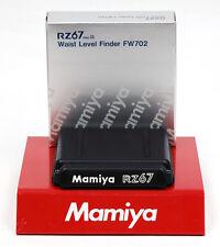 Mamiya rz Pro II Luz Pozo buscador --- waist level Finder fw702 WLF nuevo/new