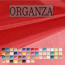 Organza Fabric by the 100 Yard Bolt and Sample