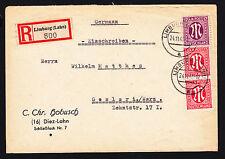 Briefmarken aus der US - & britischen Zone (ab 1945) mit BPP-Signatur