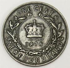 1876H Newfoundland one cent F15