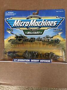 Galoob Micro Machines Military Scale Miniature #7 Operation Desert Defense