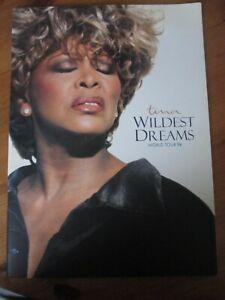 Tina Turner Wildest Dreams World Tour 1996 Tour Programme