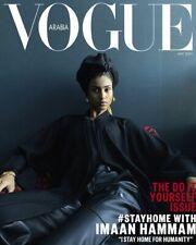 NEW Vogue ARABIA magazine May 2020 Imaan Hammam Constance Jablonski Herzigova 5