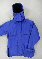 REI Gore Tex WaterProof Rain Jacket (Womens Size 10) Blue