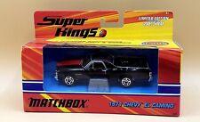 Matchbox Super Kings 1:43 Scale Die Cast Black 1971 Chevy El Camino K-206 NIB