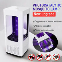 USB LED Light Fly Insect Bug Trap Electric Mosquito Killer Zapper Catcher Lamp