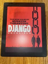 Django Unchained (Blu-ray/DVD, 2013, 3-Disc) Steelbook