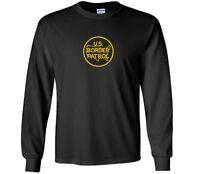 US Border Patrol T-Shirt  Trump Immigration Black Yellow Long Sleeve Shirt S-5XL