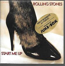 "45 TOURS / 7"" SINGLE JUKE BOX--THE ROLLING STONES--START ME UP--1981"