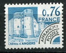FRANCE TIMBRE   PREOBLITERE  N° 166  OBL  CHATEAU D ANGERS