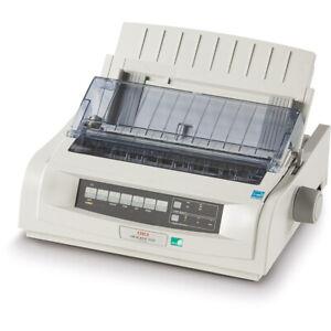 Oki Microline ML5520 Eco 9-Pin Narrow Carriage Dot Matrix Printer - USB D22900B