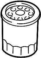Nissan/INFINITI 15208-9E01A Engine Oil Filter.