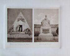 Grabmonument Erzherzogin Marie-Christine Kaiserin Elisabeth - Heliogravur 1910