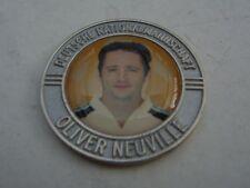 Pin Chip Münze OLIVER NEUVILLE silberfarben Arminia Bielefeld Bayer Leverkusen
