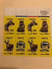 UNITA Angola block of 8 Mint stamps - MNH