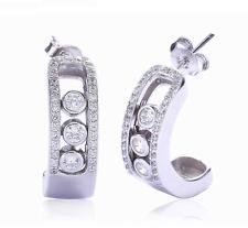 Paris style Jewelry Sterling Silver Earrings