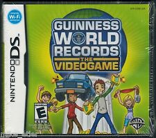 Guinness World Records: The Videogame (Nintendo DS, 2008) Factory Sealed