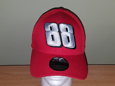 Dale Earhnardt Jr New Era Red #88 Fitted S/M New Hat FREE SHIPPING