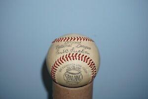 Vintage Spalding Ford C. Frick Official National League Baseball
