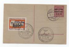 VENEZIA GIULIA 1918/1968 CARTOLINA POSTALE C1 ANNULLI 1918 E 1968