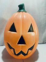 "Empire Halloween Jack O'Lantern Blowmold Vintage 21"" Pumpkin Blow Mold Yard Deco"