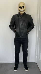 *Rare* Vintage 1983 Schott Perfecto 555 Men's 38 Leather Motorcycle Jacket USA