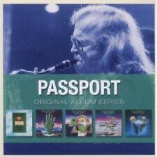 PASSPORT - ORIGINAL ALBUM SERIES/ BOX-SET 5 CD JAZZ NEW!