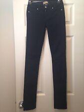 Paige Premium Denin, Peg Skinny Fit, Sz 24 Dark Blue MSRP $189