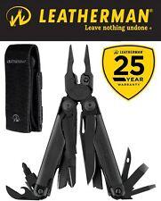 Genuine Leatherman Surge Black Steel Multi-Tool & Molle Sheath 25 Yr Wty