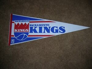 Sacramento Kings 1990 full size pennant