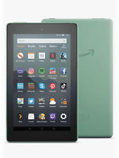 Amazon Fire 7 Kindle Tablet with Alexa,16 GB SAGE GREEN, 2019 New UK Model