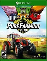 PURE FARMING 2018 XBOX ONE NEW! GROW CROPS, WORLD COUNTRY, TRACTOR, ORCHARDS