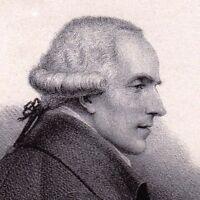 Portrait XIXe Pierre Simon Laplace Mathématicien Physicien Calvados